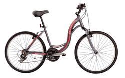 Bicicleta Raleigh Venture 3.0 Gris Rojo Talle 18.5