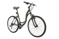 Bicicleta Raleigh Venture 3.0 Negro Verde Talle 18.5