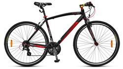 Bicicleta SMARTWAY AURORA 24V Altus Negra Azul
