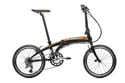 Bicicleta Tern Verge P20 Negro Naranja