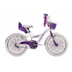 Bicicleta Raleigh Jazzi Rodado 20 Violeta