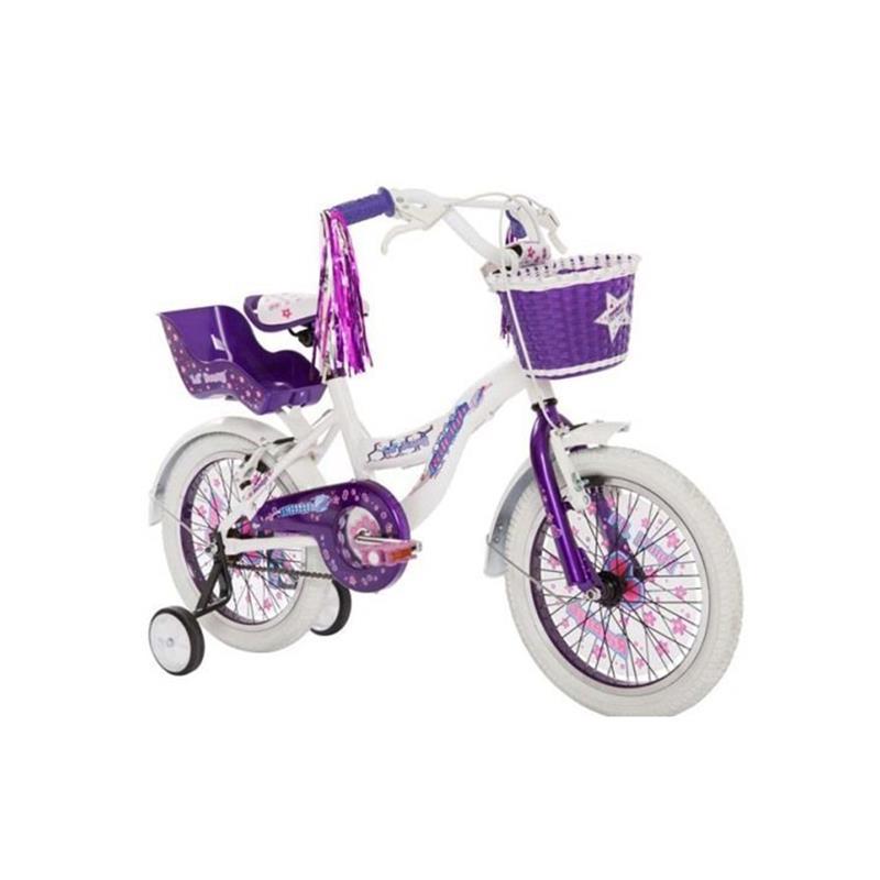 Bicicleta Raleigh Lilhon Rodado 16 Violeta