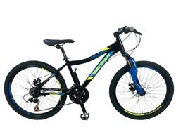 Bicicleta Raleigh MTB Scout R.24 Negra AZUL Verde