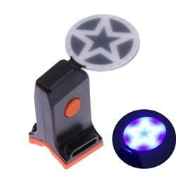 Luz Led Trasera USB Estrella Recargable 2 Colores
