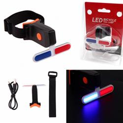 Luz Led Trasera USB Policia  Recargable