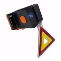 Luz Led Trasera Triangulo USB Recargable 2 Colores