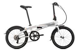 Bicicleta Tern Link D8 Blanco & Oranje & Gris