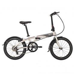 Bicicleta Tern Link D8 Blanco & Gris & Azul