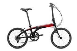 Bicicleta Tern Link D8 negro & rojo & gris
