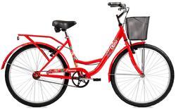 Bicicleta Primavera 265 Rodado 26 Roja