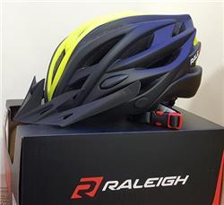 Casco Raleigh R-29 Negro/amarillo Talle L