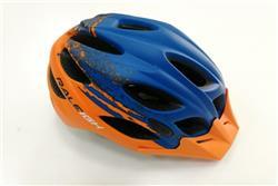 Casco Raleigh R-15 Azul Naranja  TALLE L