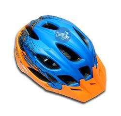 Casco Raleigh R-15 Azul/Naranja Talle M