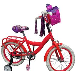 Bicicleta Rodado 16 Nena Full Curvo By TB