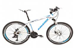 Bicicleta Raleigh Mojave 4.5 Blanca Azul T18 New2020