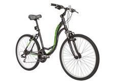Bicicleta Raleigh Venture 3.0 Negro Verde Talle 17.5