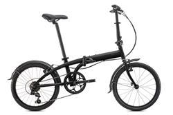Bicicleta Tern Link B7 Negra Gris New Edition con Guardabarros