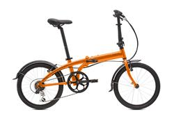 Bicicleta Tern Link B7 Naranja New Edition con Guardabarros