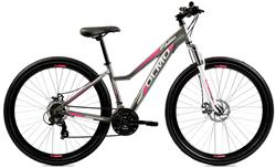 Bicicleta Olmo Flash 295 + Disc Dama Gris Celeste Talle 16