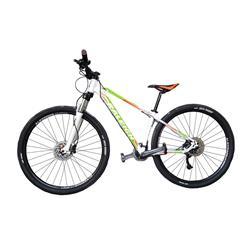 Bicicleta Raleigh Mojave 5.5 Rodado 27.5 Blanca con Verde y Naranja Talle 17