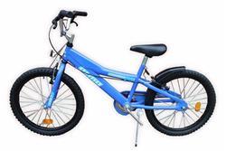 Bicicleta Olmo Rodado 20 Cosmo Bots Azul