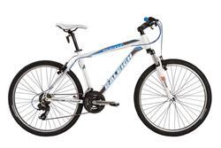 Bicicleta Raleigh Mojave 2.0 Blanca con Azul Talle 18