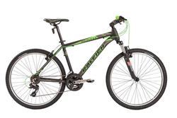 Bicicleta Raleigh Mojave 2.0 Negro con Verde Talle 22
