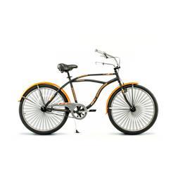 Bicicleta Raleigh RetroGlide Negro NARANJA