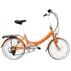 Bicicleta Aurora Classic Naranja Rodado 20 New 2019