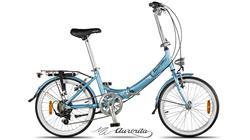 Bicicleta Aurora Classic Celeste Rodado 20 New 2019