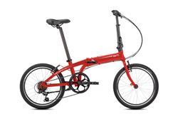 Bicicleta Tern Link A7 Red White con Guardabarros y Portapaquete