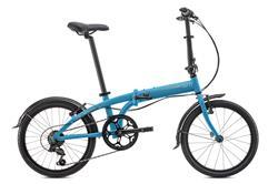Bicicleta Tern Link B7 BLUE Silver NEW con Guardabarros