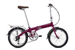 Bicicleta Bickerton Junction 1307 Purpura Rodado 20