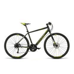Bicicleta Raleigh URBAN 1.1 Negra con Verde Talle 19