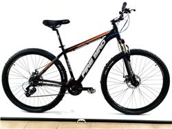 Bicicleta MTB Firebird Rodado 29 Talle 16 Negro Gris Naranja