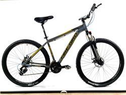 Bicicleta MTB Firebird Rodado 29 Talle 18 Shimano Gris Brillante Con Naranja