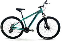 Bicicleta Firebird Rodado 29 Talle 16 DAMA Verde Agua
