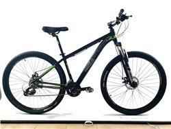 Bicicleta MTB Firebird Rodado 29 Talle 20 24 V Negro Gris Verde Fluor