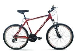 Bicicleta MTB Firebird Rodado 26 Talle 16 21 V Rojo Negro Blanco