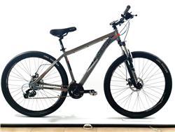 Bicicleta Firebird Rodado 29 Talle 16 24 Vel Gris Naranja Negro