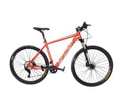 Bicicleta Venzo Atix R29 Rojo Blanco Full Deore 20 V Talle 20