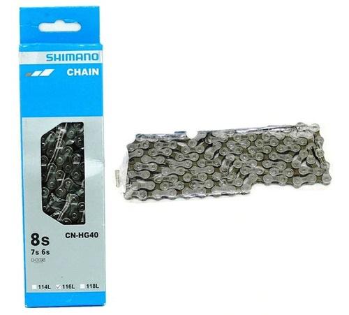 Cadena Shimano Hg-40 7/8 velocidades en Caja
