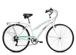 Bicicleta Olmo Freetime Aluminio 285+ Blanco Talle 18
