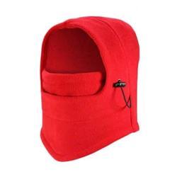 Pasamontaña con Cuello Oslo Polar Rojo