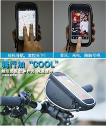 Bolso al Manubrio Bicycle Handlebar Bag Celular