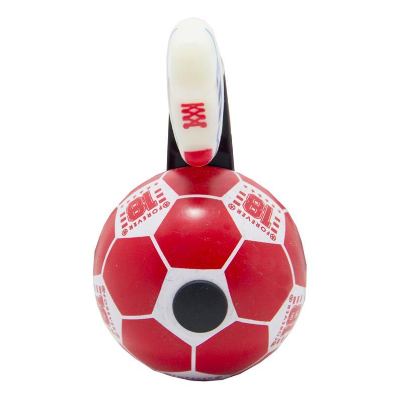 Timbre Van Halen Ball Bell Rojo Blanco