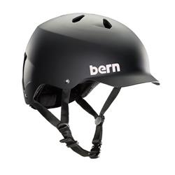 Casco BERN Watts EPS S.Matte BLACK (L)