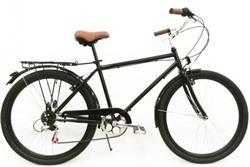 Bicicleta Urbana Hombre R26 6v Negro by TB