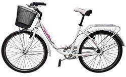 Bicicleta Paseo Lady Tour City Aluminio Blanca by TB