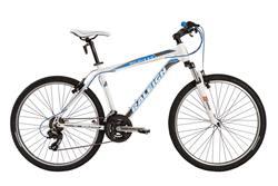 Bicicleta Raleigh Mojave 2.0 Blanco Azul Talle 18
